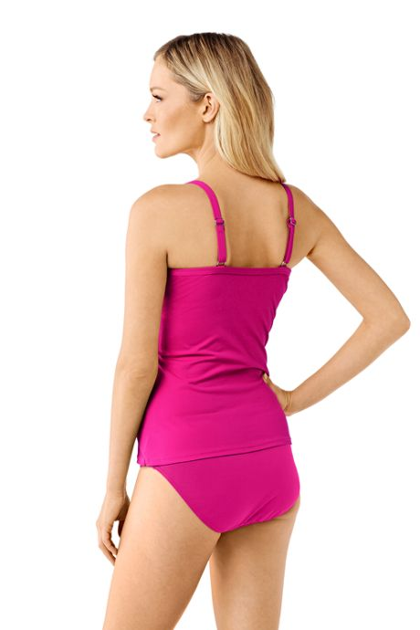 Women's Beach Living Push up Tankini Top