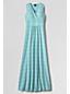 La Robe Longue Imprimée Sans Manches Femme, Taille Standard