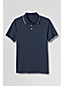 Gemustertes Supima-Polo, Slim Fit