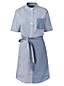 La Robe Chemise Rayée Femme, Taille Standard
