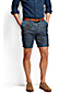 Men's Regular Lighthouse Print Chambray Shorts