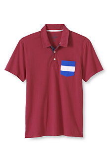 Men's Slim Seaworn Tee - Maritime Signal Pocket Polo