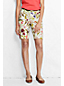Women's Regular Printed Bermuda Chino Shorts