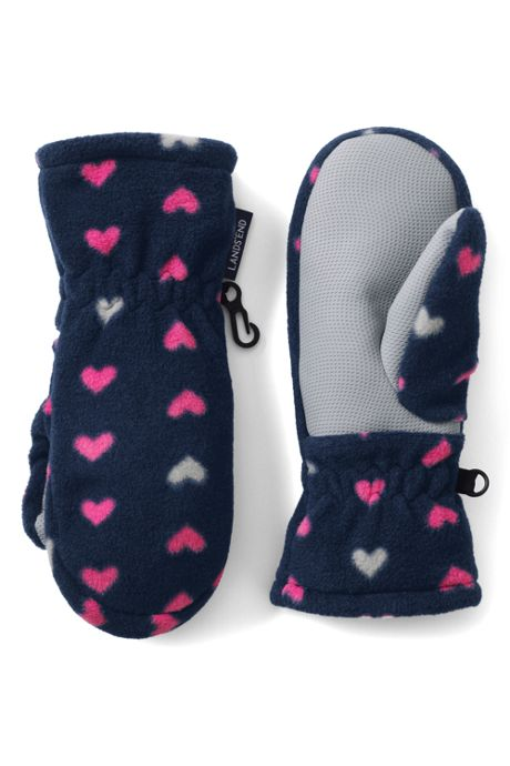 Girls ThermaCheck 200 Fleece Mittens