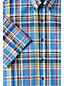 Men's Regular Short Sleeve Madras Shirt