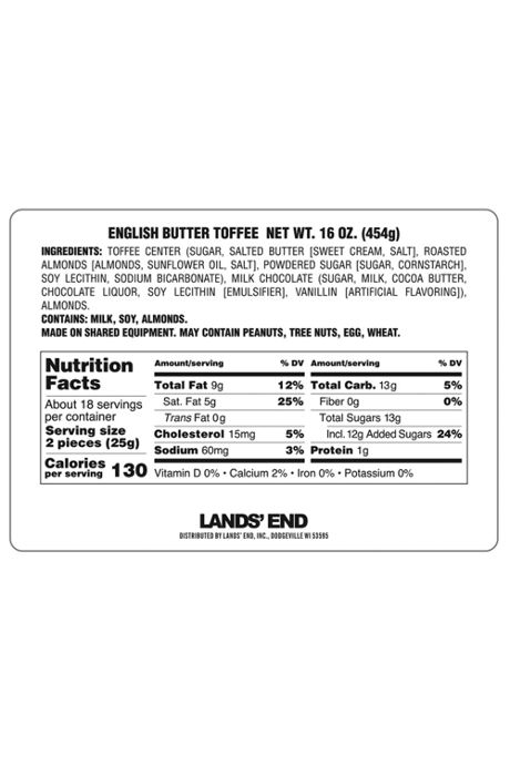 English Butter Toffee