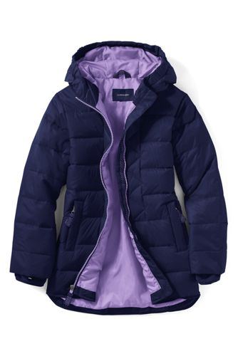 Little Girls' Plain Down Parka
