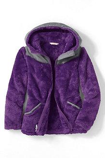 Flauschfleece-Jacke für  Mädchen