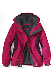 Girls' Waterproof Squall Jacket