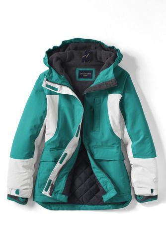 Little Girls' Waterproof Squall Parka