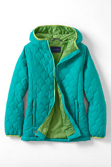 Girls' Lightweight Insulated Packable Jacket