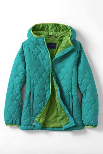 Leichte PrimaLoft-Jacke für kleine Mädchen