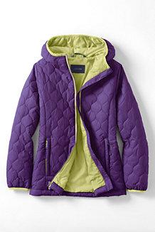 Leichte PrimaLoft-Jacke für Mädchen