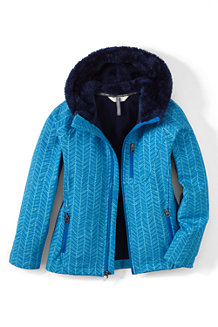 Girls' Softshell Printed Jacket