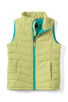 Girls' Lightweight Quilted Gilet