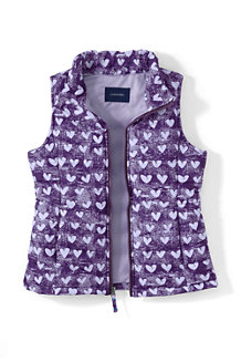 Girls' Lightweight Gilet Print