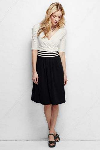 Women's Regular Straight Fit and Flare Dress