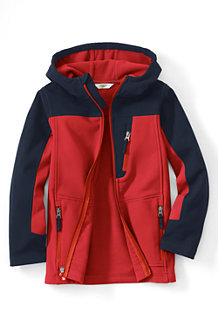 Boys' Colourblock Soft Shell Jacket