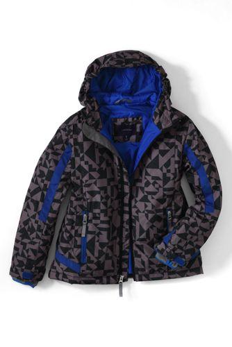 Gemusterte Stormer-Jacke für kleine Jungen