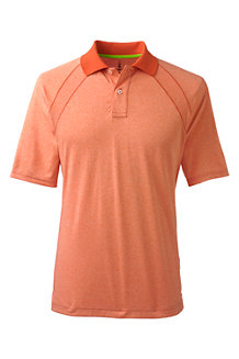 Men's Short Sleeve Mock Twist Polo