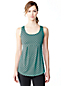 Women's Regular Print Sleeveless Workout Top