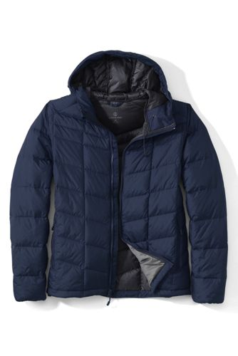 Men's Regular Hooded Down Jacket