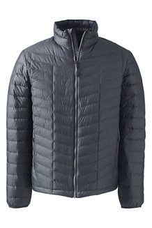 Men's Heathered Lightweight Down Jacket