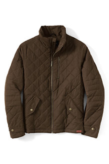 Men's PrimaLoft® Quilted Moto Jacket