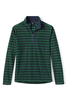 Men's Patterned ThermaCheck®-100 Fleece Half-zip Pullover