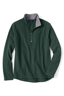 Men's Textured ThermaCheck®-100 Fleece Half-zip Pullover