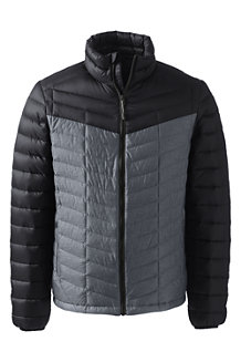 Men's Colourblock Lightweight Down Jacket
