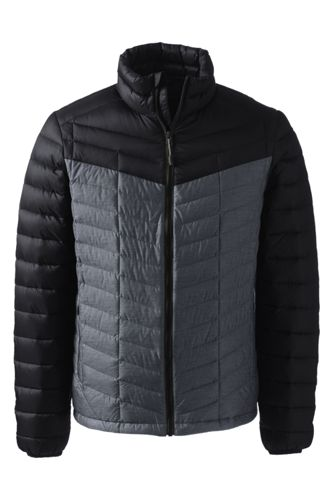 Men's Regular Colourblock Lightweight Down Jacket