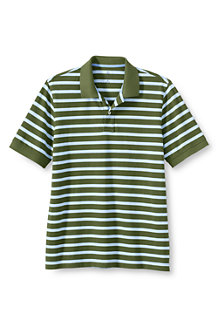 Men's Classic Stripe Piqué Polo
