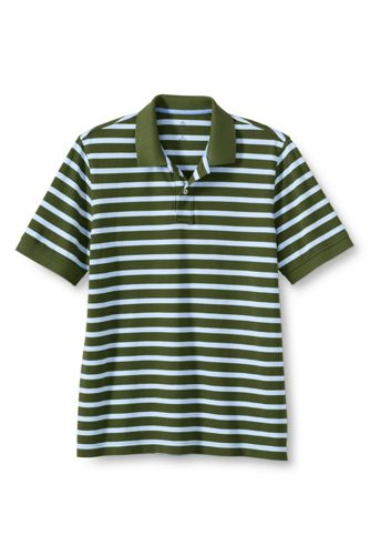 Le Polo Rayé en Maille Homme, Taille Standard