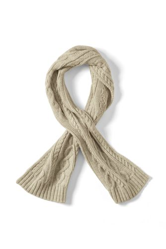 Kids' Chunky Cable Knit Scarf