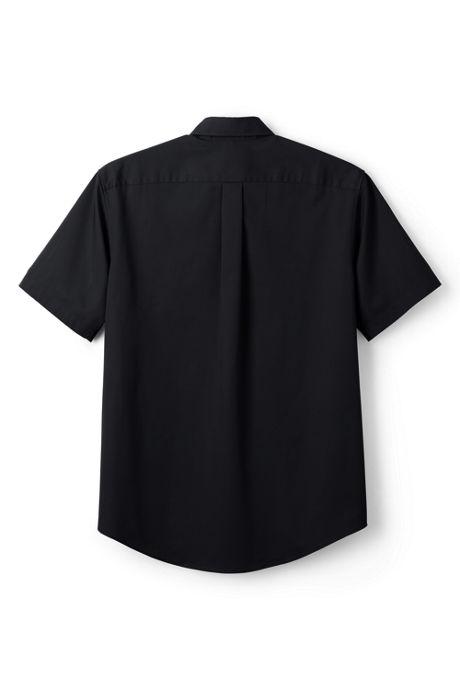 Men's Big Short Sleeve Straight Collar Work Shirt