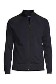 Men's Performance Cotton Sweater Jacket