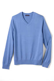 Men's Cotton Modal V-neck Sweater