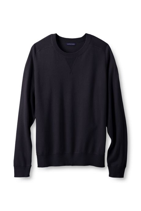 Men's Performance Long Sleeve Active Crew Sweater