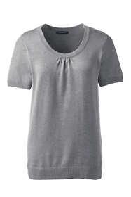 Women's Cotton Modal Cap Sleeve Sweater