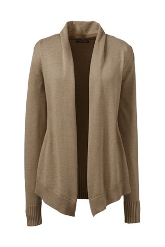 Women's Cotton Modal Open Drape Cardigan