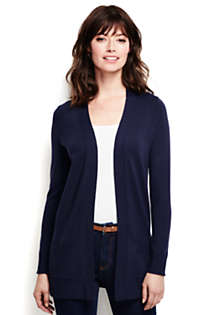 Women's Performance Long Open Cardigan, Front