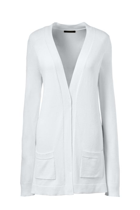 Women's Plus Size Performance Long Open Cardigan