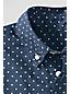 Boys' Long Sleeve Pattern Poplin Shirt