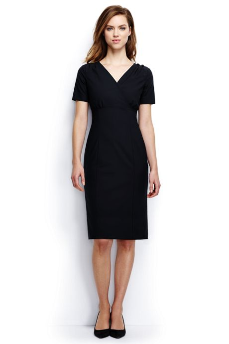 Women's Petite Empire Shift Dress