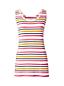 Women's Regular Basic Stripe Cotton Vest Top