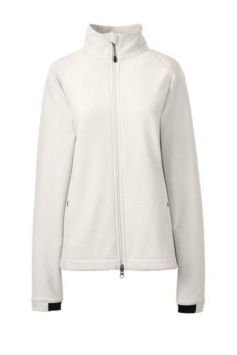 Women's Soft Shell Fleece Jacket by Lands' End