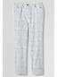 Le Pantacourt Chino à motifs Taille mi-haute Femme, Taille Standard