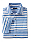 Men's Regular Short Sleeve Printed Linen Shirt