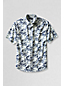 Men's Regular Patterned Short Sleeve Seersucker Shirt